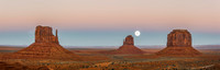 Super Moon in Monument Valley