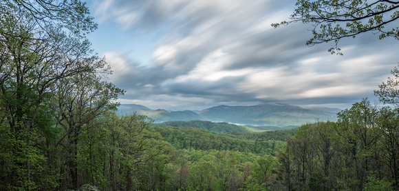 Moving Over the Blue Ridge Mountains